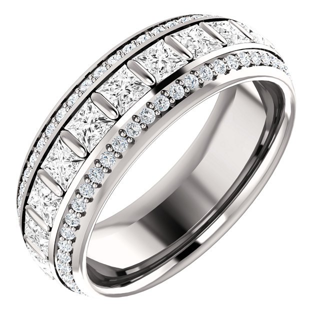 jewelry carat ct band with diamond wg platinum fascinating thin nl eternity bands in white cut princess