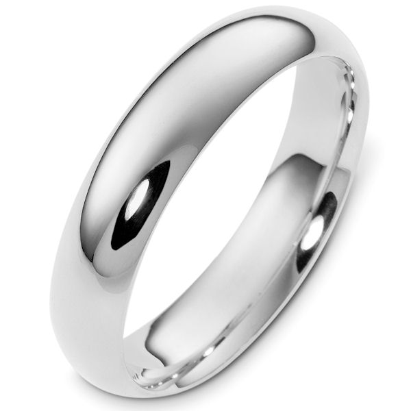 comfort her band fit new mirror ring silver flat sterling ft wedding rings his fine or